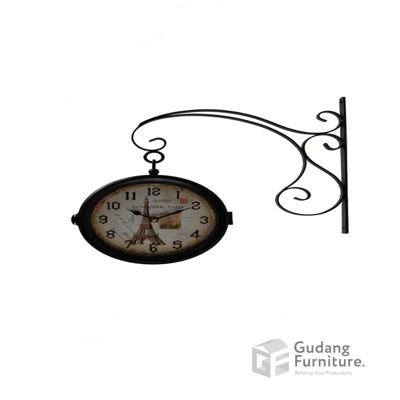 Jam Dinding / Metal Wall Clock Ardente 13STC430