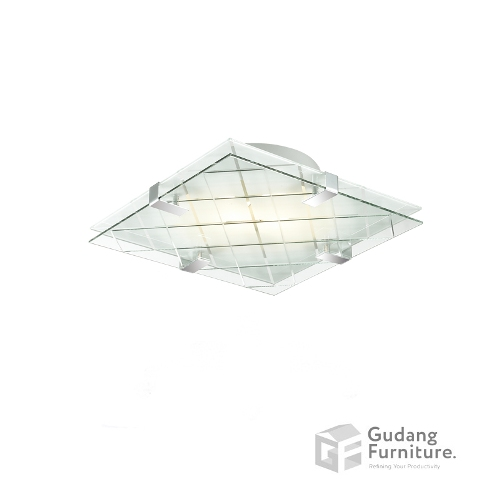 Lampu Plafon/Ceiling Lamp 3+ Projects Double Glass 3+DLEVENSU31AH