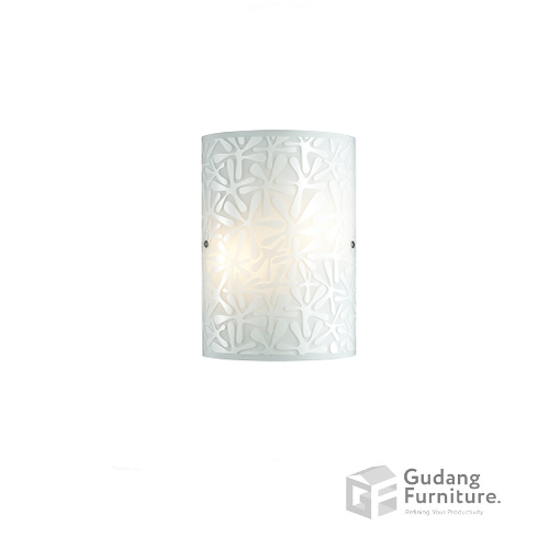 Lampu Dinding/Wall Lamp 3+ Projects Metal Base in White 3+DLWL1206DAAH