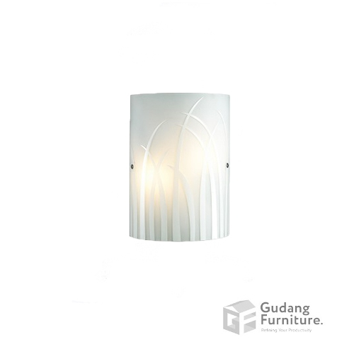 Lampu Dinding/Wall Lamp 3+ Projects Metal Base in White 3+DLWL1206GAAH