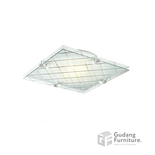 Lampu Plafon/Ceiling Lamp 3+ Projects Double Glass 3+DLEVENSU40AH