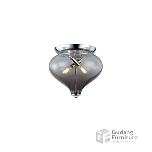 Lampu Plafon/Ceiling Lamp Polished Chrome 3+ Projects 3+MPC180792