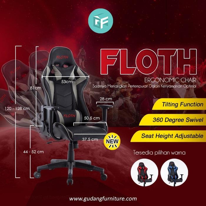 FLOTH Premium Quality Gaming Chair FLH-098
