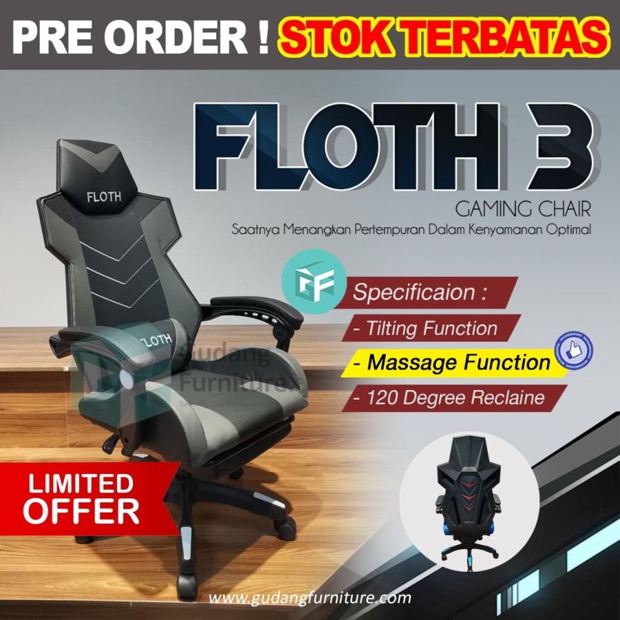 Kursi Gaming / Gaming Chair FLOTH 3