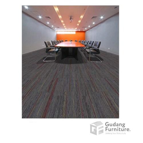 Karpet Kantor Stream Colour - Charcoal
