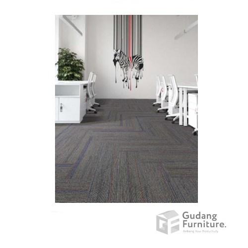 Karpet Kantor Stream Colour - Grey