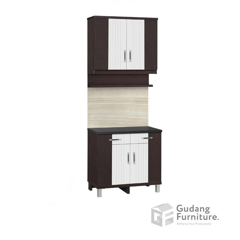 Kitchen Set Atas 2 Pintu Rak Bumbu Anata Series KSA 2652