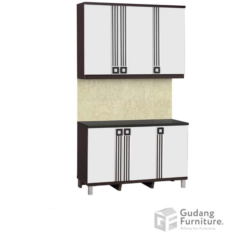 Kitchen Set Bawah 3 Pintu Infinity Series KSB 2543