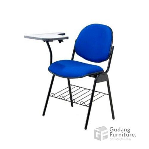 Kursi Belajar / Kursi Training / Study Chair (with Table) Fantoni K 1008
