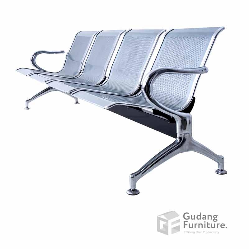 Kursi Tunggu / Public Chair / Kursi Deret / Kursi Tunggu Bandara Fantoni F 7036/4 SE