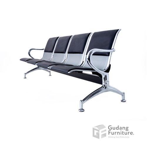 Kursi Tunggu / Public Chair / Kursi Deret / Kursi Tunggu Bandara Fantoni F 7036 C/4 Seater