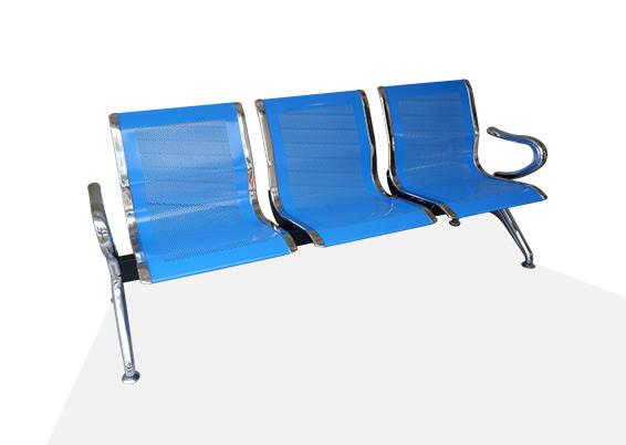 Kursi tunggu bandara kursi bandara kursi tamu kursi besi 3 Seater