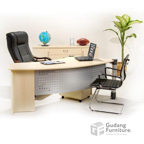 Meja Kerja Kantor Direktur Modern Minimalis Aditech FD 02