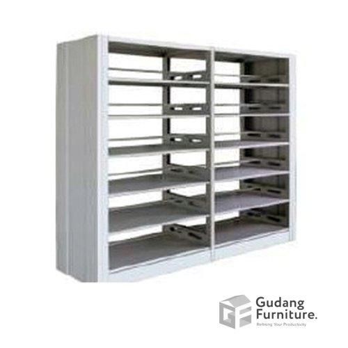 Lemari Perpustakaan Metal / Filling Cabinet Metal / Rak Metal Kantor Safeguard SBSW2P-P2
