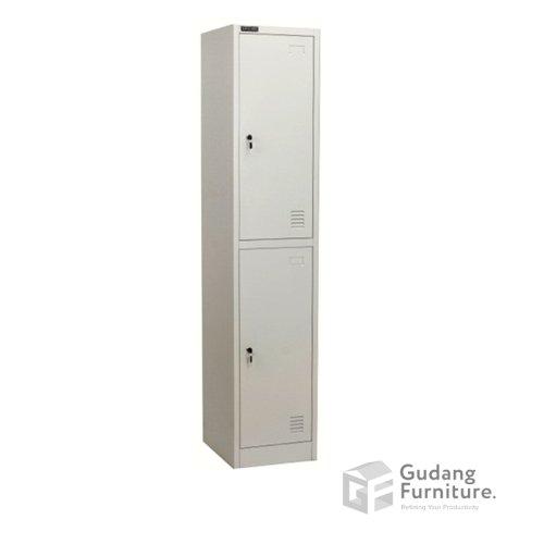 Loker Metal / Lemari Metal Kantor 2 Pintu Safeguard SL B2