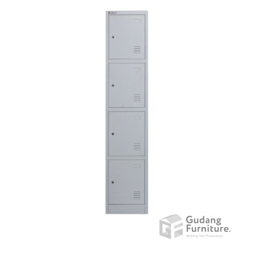 Loker Metal / Lemari Metal Kantor 4 Pintu Safeguard SL B4