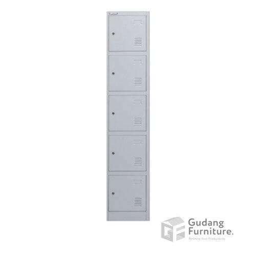 Loker Metal / Lemari Metal Kantor 5 Pintu Safeguard SL B5