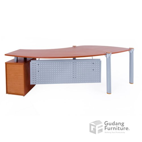 Meja Kerja Kantor Direktur Modern Minimalis Aditech XE 01
