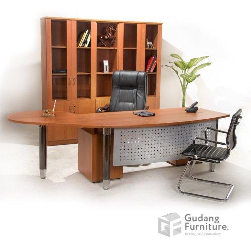 Meja Kerja Kantor Direktur Modern Minimalis Aditech FD 05
