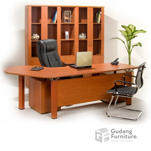 Meja Kerja Kantor Direktur Modern Minimalis Aditech FD 06