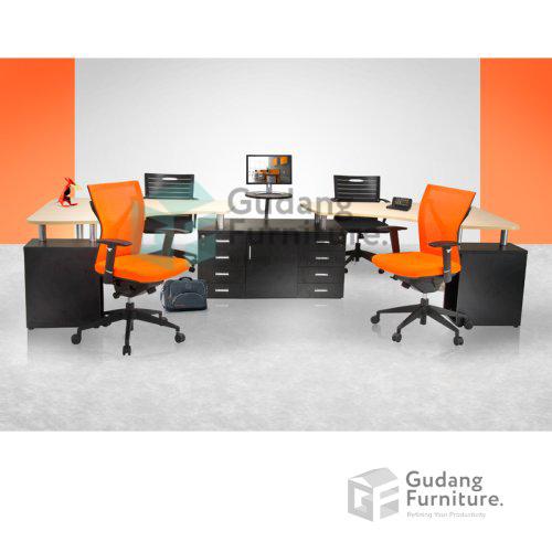 Meja Partisi / Workstation Kantor / Meja Kerja Kantor Aditech NFD 61