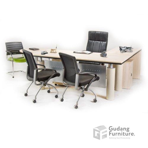 Meja Kerja Kantor Direktur Aditech NFD 66