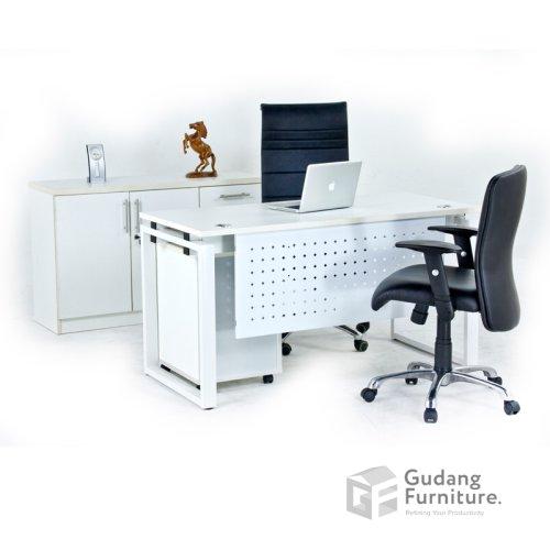 Meja Kerja Kantor Manager Aditech FR 08 AG