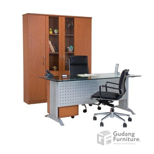 Meja Kerja Kantor Direktur Aditech MG 02