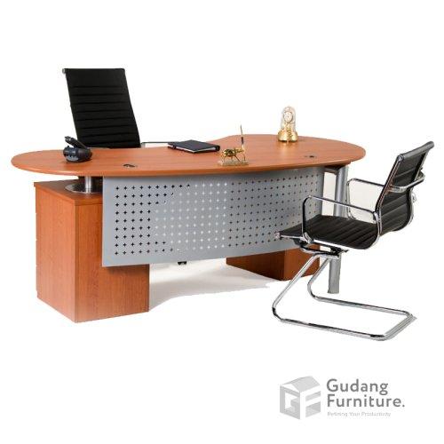 Meja Kerja Kantor Direktur Aditech SE 6004
