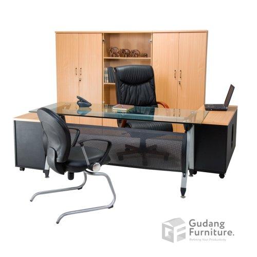 Meja Kerja Kantor Direktur Aditech SE 6002