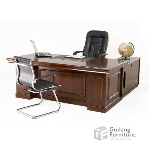 Meja Kerja Kantor Direktur Classic Glory FC 1635