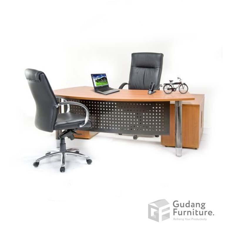 Meja Kerja Kantor Direktur Minimalis Aditech NFD 63