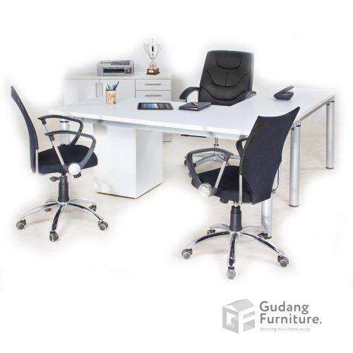 Meja Kerja Kantor Direktur Minimalis Aditech SDD 04