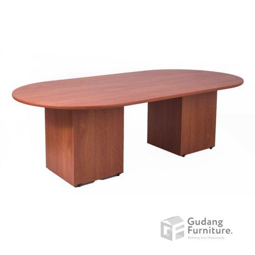 Meja Meeting Kantor / Meja Rapat Kantor Modern Minimalis Aditech R 240