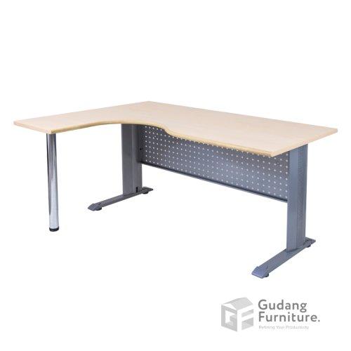 Meja Kerja Kantor Manager Modern Minimalis Aditech M 1412 M