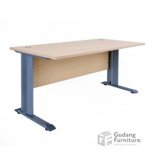 Meja Kerja Kantor Staff Modern Minimalis Aditech EGD 700 (120X75X75 cm)