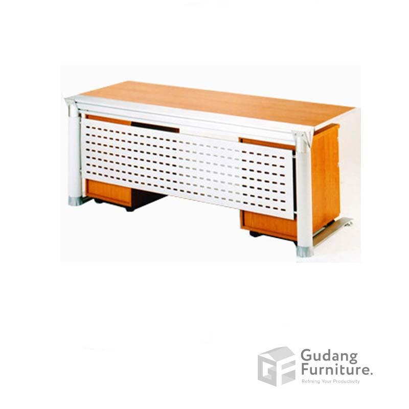Meja Kerja Kantor Direktur Modern Minimalis Aditech XE 09