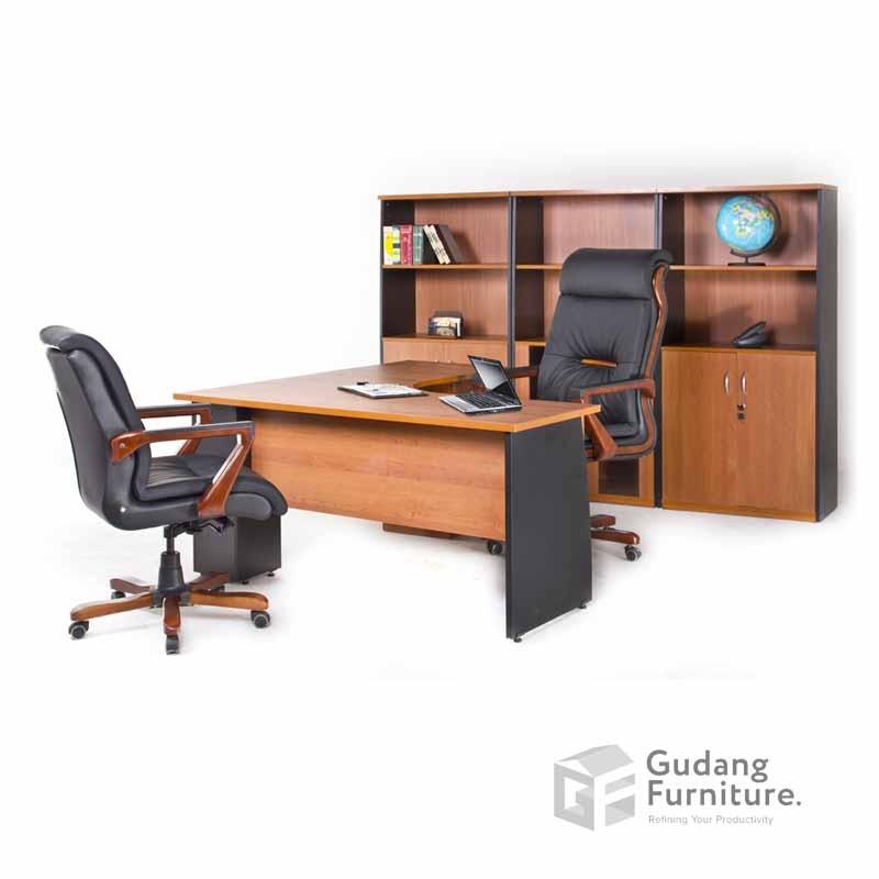 Meja Kerja Kantor Manager Aditech SDD 02