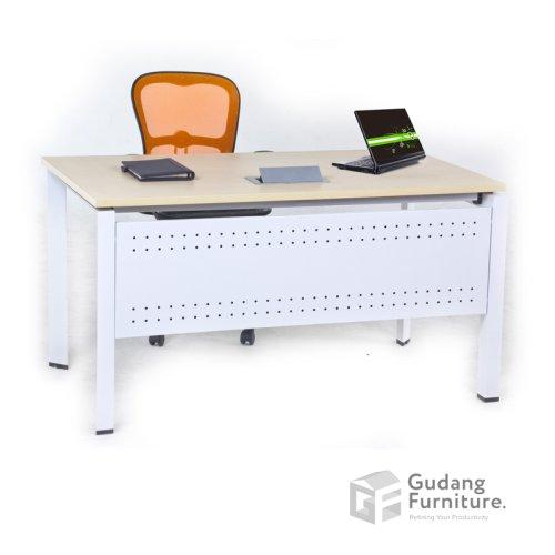 Meja Kerja Kantor Manager Modern Minimalis Aditech FR 10