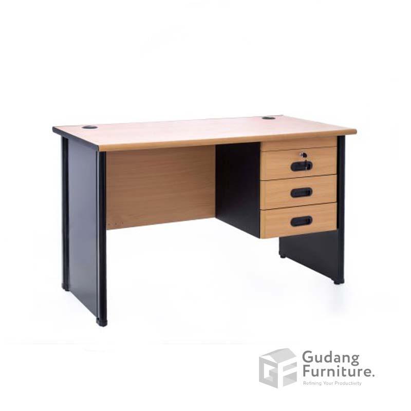 Meja Kerja Kantor Staff Modern Minimalis Glory NGD 350