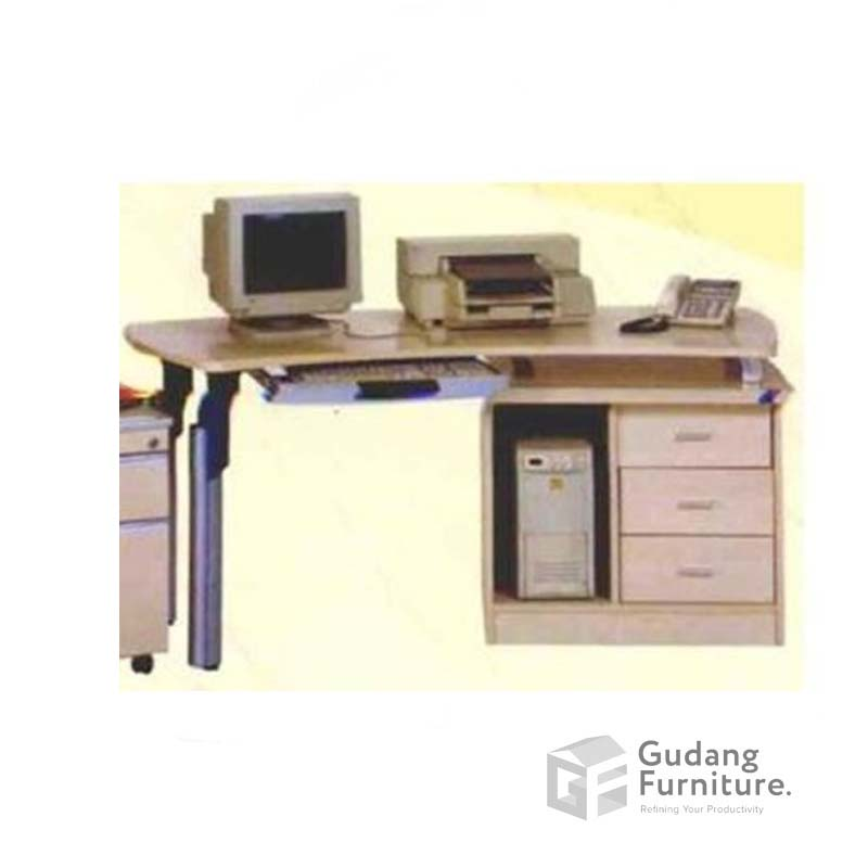 Meja Komputer Kantor / Meja Staff Kantor Aditech XE 08