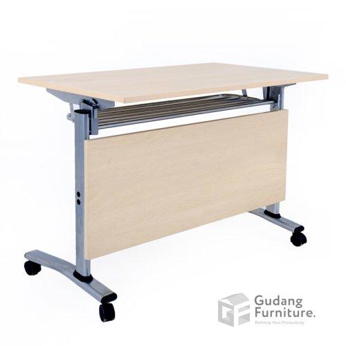 Meja Lipat Kantor / Meja Komputer / Meja Training Aditech EGK 30