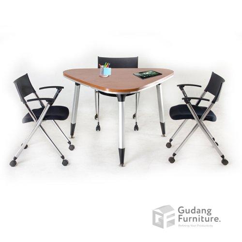 Meja Meja Meeting Kantor / Meja Rapat Kantor Modern Minimalis Aditech FRM 15