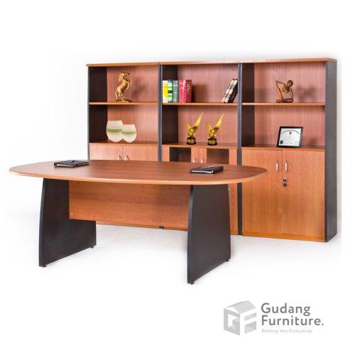 Meja Meeting Kantor Modern Minimalis Aditech SMD 01