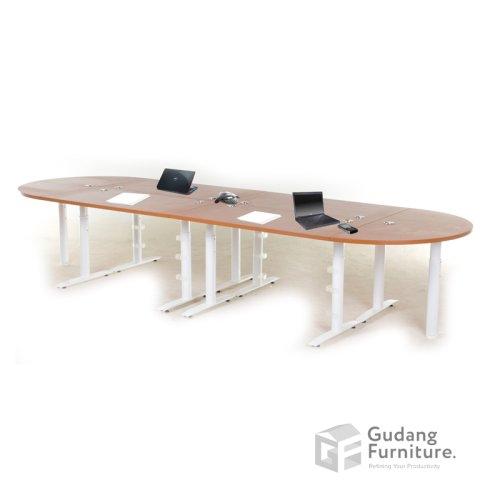 Meja Meeting Kantor Modern Minimalis Aditech SMD 02