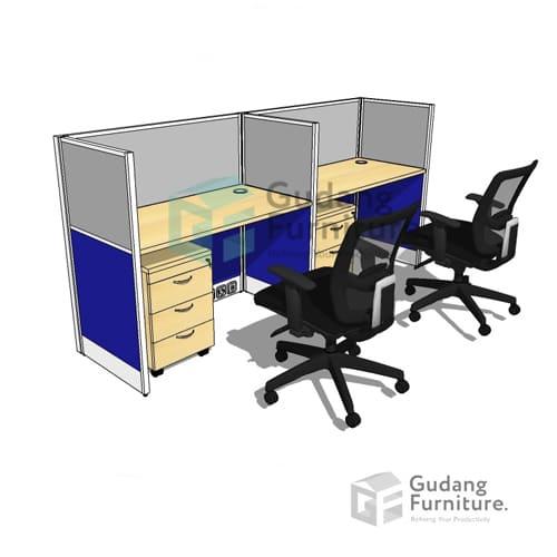 Meja Kantor Partisi Safeguard WSA1-2