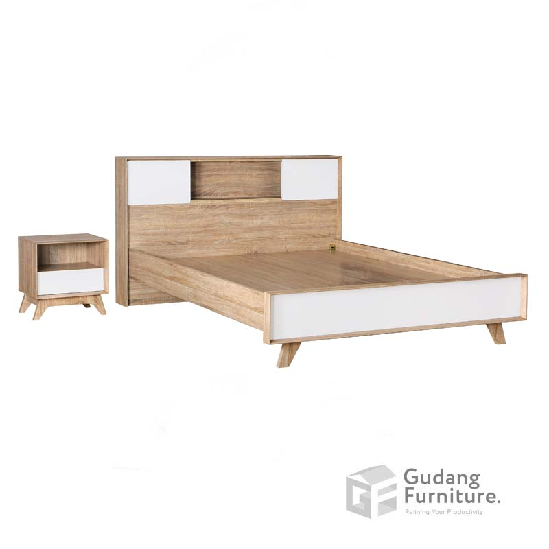Ranjang Double Bed (Queen Size) Agusto Series RN 2276