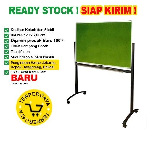 Papan Pin Board / Soft Board SAKANA Bludru 120x240 cm ( Kaki )