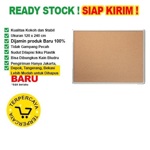 Papan Pin Board / Soft Board SAKANA Polos 120x240