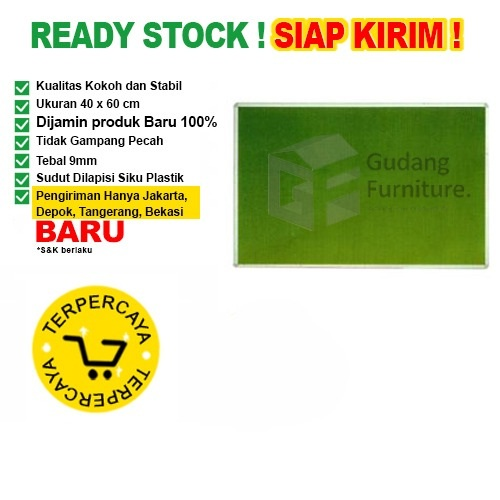Papan Pin Board / Soft Board SAKANA Bludru 40x60 cm